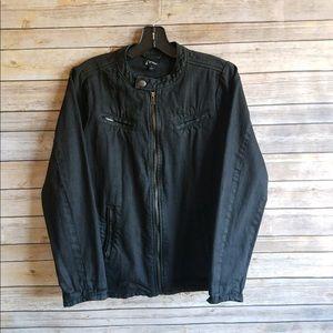 🌲5/$25 Art Class Boys Black Moto Jacket